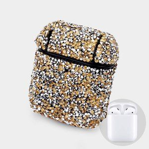Crystal Embellished Beaded Airpod Case